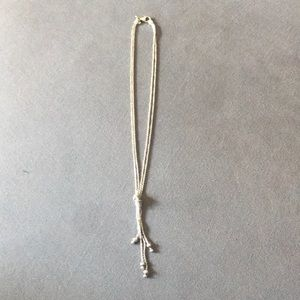 Silpada necklace with knot